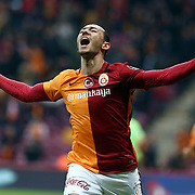 Galatasaray's Umut Bulut  during their Turkish Super League soccer match Galatasaray between Akhisar Belediye Genclik ve Spor at the AliSamiYen Spor Kompleksi TT Arena at Seyrantepe in Istanbul Turkey on Sunday, 20 December 2015. Photo by Aykut AKICI/TURKPIX