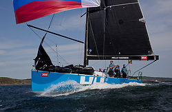 Sailing - SCOTLAND  - 27th May 2018<br /> <br /> DAY 3 Racing the Scottish Series 2018, organised by the  Clyde Cruising Club, with racing on Loch Fyne from 25th-28th May 2018<br /> <br /> GBR 732R, Wildebeeste, Craig Latimer, Ker 32<br /> <br /> Credit : Marc Turner<br /> <br /> Event is supported by Helly Hansen, Luddon, Silvers Marine, Tunnocks, Hempel and Argyll & Bute Council along with Bowmore, The Botanist and The Botanist