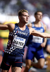 August 11, 2017 - Londres, Angleterre - LONDON , UNITED KINGDOM  - AUGUST 11 : Kevin Mayer of France '' Decathlon''  pictured during 100 m heat at the16th IAAF World Athletics championships from august 4 till 13, 2017 in London ,United Kingdom, 09/08/2017 (Credit Image: © Panoramic via ZUMA Press)