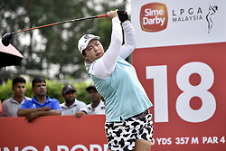 October 26, 2017 - Kuala Lumpur, Malaysia - Shanshan Feng of China during day one of the Sime Darby LPGA Malaysia at TPC Kuala Lumpur on October 26, 2017 in Kuala Lumpur, Malaysia. (Credit Image: © Chris Jung/NurPhoto via ZUMA Press)