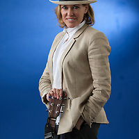 Cerys Matthews at the Edinburgh International Book Festival 2013. 14th August 2013<br /> <br /> Picture by Russell G Sneddon/Writer Pictures