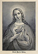 Sacred Heart of Mary From ' The pictorial Catholic library ' containing seven volumes in one: History of the Blessed Virgin -- The dove of the tabernacle -- Catholic history -- Apparition of the Blessed Virgin -- A chronological index -- Pastoral letters of the Third Plenary. Council -- A chaplet of verses -- Catholic hymns  Published in New York by Murphy & McCarthy in 1887