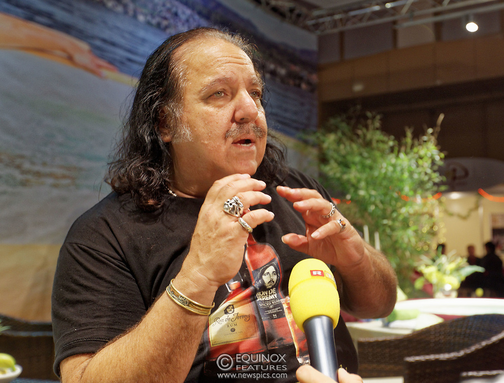 Berlin, Germany - 18 October 2012<br /> Porn star Ron Jeremy promoting his 'Ron Jeremy' brand of rum at the Venus Berlin 2012 adult industry exhibition in Berlin, Germany. Ron Jeremy, born Ronald Jeremy Hyatt, has been an American pornographic actor since 1979. He faces sexual assault allegations which he strenuously denies. There is no suggestion that any of the people in these pictures have made any such allegations.<br /> www.newspics.com/#!/contact<br /> (photo by: EQUINOXFEATURES.COM)<br /> Picture Data:<br /> Photographer: Equinox Features<br /> Copyright: ©2012 Equinox Licensing Ltd. +448700 780000<br /> Contact: Equinox Features<br /> Date Taken: 20121018<br /> Time Taken: 12150508