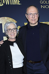 January 5, 2019 - West Hollywood, CA, USA - LOS ANGELES - JAN 5:  Wendy Mogel, Michael Tolkin at the Showtime Golden Globe Nominees Celebration at the Sunset Tower Hotel on January 5, 2019 in West Hollywood, CA (Credit Image: © Kay Blake/ZUMA Wire)