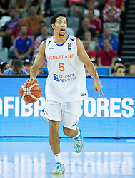 Leon Williams of Netherlands during basketball match between Netherlands and Croatia at Day 5 in Group C of FIBA Europe Eurobasket 2015, on September 9, 2015, in Arena Zagreb, Croatia. Photo by Vid Ponikvar / Sportida