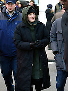 March 2, 2016 - New York City, NY, USA - <br /> <br /> Actress Kate Winslet was on the Midtown set of the new movie 'Collateral Beauty' on March 2 2016 in New York City <br /> ©Exclusivepix Media
