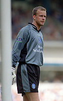 Fotball<br /> Norske spillere i England<br /> Foto: Colorsport/Digitalsport<br /> NORWAY ONLY<br /> <br /> Thomas Myhre (Birmingham City)  Birmingham City v Barnsley, Division 1 Play Off Semi Final. 13/05/2000.