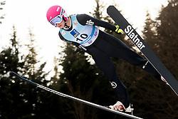 February 7, 2019 - Ljubno, Savinjska, Slovenia - Tara Geraghty-Moats of United States of America competes on qualification day of the FIS Ski Jumping World Cup Ladies Ljubno on February 7, 2019 in Ljubno, Slovenia. (Credit Image: © Rok Rakun/Pacific Press via ZUMA Wire)