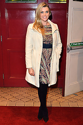 © Licensed to London News Pictures. 08/03/2016. ANNA WILLIAMSON attends the Motown The Musical press night. Motown hits featured in the production include Dancing In The Street, I Heard It Through The Grapevine and My Girl. London, UK. Photo credit: Ray Tang/LNP