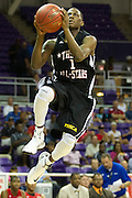 Former North Crowley point guard Jalan McCloud #1 drives to the basket for the North team during the 2013 THSCA All-Star Basketball Game at Daniel - Meyer Coliseum in Fort Worth on Monday, July 29, 2013. (Cooper Neill/Special Contributor)