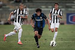 Bari (BA) 21.07.2012 - Trofeo Tim 2012. Inter - Juventus. Nella Foto: Caceres (J) sx e Coutinho dx (I)