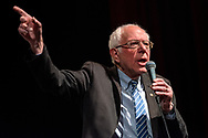 US Senator Bernie Sanders, a 2020 Democratic Presidential candidate, speaks to supporters during a campaign rally Stifel Theatre in Saint Louis, Missouri, USA, 09 March 2020. Voters in Missouri hold their Presidential primary on Tuesday 10 March. Photo ©copyright 2020 Sid Hastings.