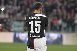 May 19, 2019 - Turin, Piedmont, Italy - Andrea Barzagli greets fans before his last match with Juventus at Allianz Stadium on May 19, 2019 in Turin, Italy. (Credit Image: © Massimiliano Ferraro/NurPhoto via ZUMA Press)