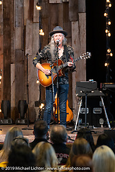 Pat Simmons of the Doobie Brothers, an old friend of Arlen's, sang at the Arlen Ness Memorial - Celebration of Life at the CrossWinds Church, Livermore, CA, USA. <br /> <br /> Saturday</b>, April 27, 2019. Photography ©2019 Michael Lichter.