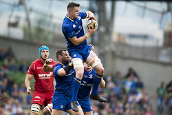 May 27, 2018 - Dublin, Ireland - James Ryan of Leinster with the ball during the Guinness PRO14 Final match between Leinster Rugby and Scarlets at Aviva Stadium in Dublin, Ireland on May 26, 2018  (Credit Image: © Andrew Surma/NurPhoto via ZUMA Press)