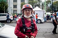 Arlette Salyano Tourres, franco-messicana, volontaria della protezione civile.