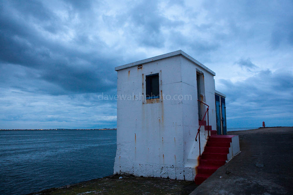 That Gloaming at the South Bull, Dublin - one of the longest sea walls in Europe,
