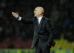 Watford Manager, Giuseppe Sannino - Photo mandatory by-line: Dougie Allward/JMP - Tel: Mobile: 07966 386802 14/01/2014 - SPORT - FOOTBALL - Vicarage Road - Watford - Watford v Bristol City - FA Cup - Third Round - replay