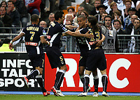 Fotball<br /> Frankrike<br /> Foto: DPPI/Digitalsport<br /> NORWAY ONLY<br /> <br /> FOOTBALL - FRENCH LEAGUE CUP 2008/2009 - FINAL - FC GIRONDINS BORDEAUX v VANNES OC - 25/04/2009 - JOY BORDEAUX AFTER WENDEL'S GOAL