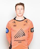 Fotball , Tippeligaen , Eliteserien , 2016 , portretter , portrett , <br /> Start<br /> Sean McDermott