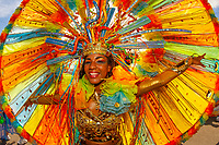 Trinidad Carnival, Queens Park Savannah, Port of Spain, Trinidad & Tobago.
