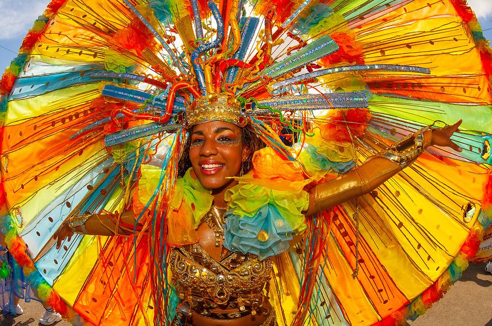 Trinidad Carnival, Queens Park Savannah, Port of Spain, Trinidad & Tobago.