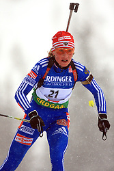 Albina Akhatova (RUS) at Women 15 km Individual at E.ON Ruhrgas IBU World Cup Biathlon in Hochfilzen (replacement Pokljuka), on December 18, 2008, in Hochfilzen, Austria. (Photo by Vid Ponikvar / Sportida)