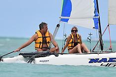 Lisa Faulkner and John enjoy holiday - 26 Jan 2020