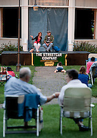 (Karen Bobotas/for the Laconia Daily Sun)Streetcar Company's Theater in the Park and Laconia Rotary Park Wednesday, August 10, 2011.