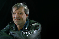 Acclaimed French author Antoine Audouard, pictured at the Edinburgh International Book Festival, where he talked about hislove story entitled 'Farewell, My Only One' and other works. The book festival was a part of the Edinburgh International Festival, the largest annual arts festival in the world.