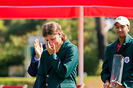 21-07-2018 Pictures of the final day of the Zwitserleven Dutch Junior Open at the Toxandria Golf Club in The Netherlands.21-07-2018 Pictures of the final day of the Zwitserleven Dutch Junior Open at the Toxandria Golf Club in The Netherlands.  SOHIER, Anouk (NL) getting emotional during her speech