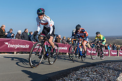 Alena Amialiusik takes the Vamberg in her stride - Drentse 8, a 140km road race starting and finishing in Dwingeloo, on March 13, 2016 in Drenthe, Netherlands.