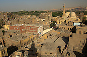 The El Azhar Mosque (the most blooming), which affords some of the best views over old Cairo from its minaret.