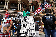 Workers from the entertainment industry rally in Philadelphia, PA