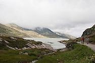 Svizzera,Alta Valposchiavo:il lago bianco.