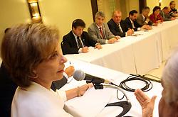 A governadora eleita do Rio Grande do Sul, Yeda Crusius durante encontro com as bancadas Estadual e Fedeal do PMDB. FOTO: Jefferson Bernardes/Preview.com