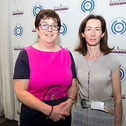 23.05.2018.       <br /> Today, the Institute of Community Health Nursing (ICHN) hosted its2018 community nurseawards in association withHome Instead Senior Care,at its annual nursing conference, in the Strand Hotel Limerick, rewarding public health nurses for their dedication to community care across the country. <br /> <br /> Pictured are, Emer Casey, Registered General Nurse Maynooth, Co Kildare, winner of the ICHN Nurse Award with Aideen Henaghan.  Picture: Alan Place