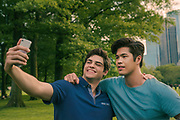 TO ALL THE BOYS IVE LOVED BEFORE 3.  Noah Centineo as Peter Kavinsky, Ross Butler as Trevor, in TO ALL THE BOYS IVE LOVED BEFORE 3. Cr. Sarah Shatz / Netflix © 2020 To All the Boys I've Loved Before