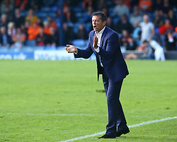September 30, 2017 - Southend, England, United Kingdom - Phil Brown manager of Southend United.during Sky Bet League one match between Southend United against Blackpool at  Roots Hall,  Southend on Sea England on 30 Sept  2017  (Credit Image: © Kieran Galvin/NurPhoto via ZUMA Press)