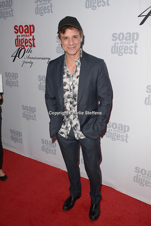 CHRISTIAN LEBLANC at Soap Opera Digest's 40th Anniversary party at The Argyle Hollywood in Los Angeles, California