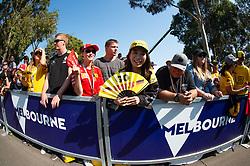 March 17, 2019 - Albert Park, VIC, U.S. - ALBERT PARK, VIC - MARCH 17: Nico Hulkenberg fans at The Australian Formula One Grand Prix on March 17, 2019, at The Melbourne Grand Prix Circuit in Albert Park, Australia. (Photo by Speed Media/Icon Sportswire) (Credit Image: © Steven Markham/Icon SMI via ZUMA Press)