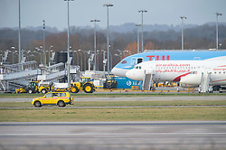 © Licensed to London News Pictures. 20/12/2018. Gatwick, UK. Drone has closed Gatwick airport with all flights in and out cancelled while police hunt for drone pilot deliberately targeting airport.Photo credit: Grant Falvey/LNP