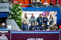 Philippaerts Olivier, BEL, H&M Legend Of Love, Philippaerts Ludo, BEL<br /> Training<br /> Longines FEI World Cup Finals Jumping Gothenburg 2019