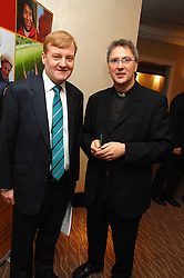 Left to right, CHARLES KENNEDY and FR MICHAEL SEED at the Macmillan Cancer Suport Parliamentay Palace of Varieties Show held at the Intercontinental Hotel, Park lane, London on 7th February 2008.<br /><br />NON EXCLUSIVE - WORLD RIGHTS