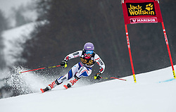 WORLEY Tessa of France competes during  the 6th Ladies'  GiantSlalom at 55th Golden Fox - Maribor of Audi FIS Ski World Cup 2018/19, on February 1, 2019 in Pohorje, Maribor, Slovenia. Photo by Vid Ponikvar / Sportida