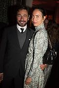 EMANUELE MASCIONI; CAMILLA ALIBRAND, Sarah Lucas- Scream Daddio party hosted by Sadie Coles HQ and Gladstone Gallery at Palazzo Zeno. Venice. 6 May 2015.