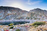 Rila Mountain in the end of September. Golyam Polich and Karagyol lake.