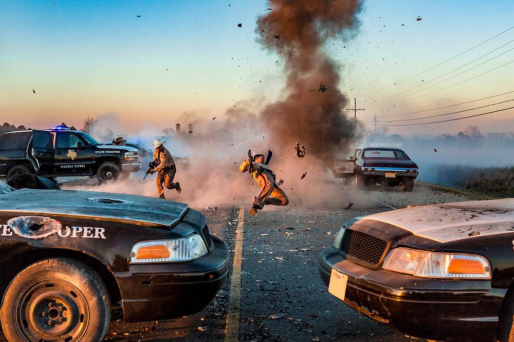 Highway Patrol in Preacher, Season 2, Episode 1 - Photo Credit: Skip Bolen/AMC/Sony Pictures Television
