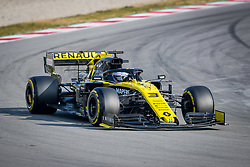 February 19, 2019 - Montmelo, Barcelona, Spain - Barcelona-Catalunya Circuit, Montmelo, Catalonia, Spain - 19/02/2018: Daniel Ricciardo of Renault F1 Team during second journey of F1 Test Days in Montmelo circuit. (Credit Image: © Javier Martinez De La Puente/SOPA Images via ZUMA Wire)