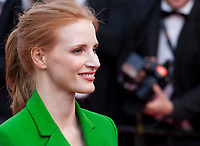 Jury member Jessica Chastain at The Meyerowitz Stories gala screening at the 70th Cannes Film Festival Sunday 21st May 2017, Cannes, France. Photo credit: Doreen Kennedy